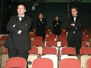 Pictures from the dress rehearsal of EHOS production of Bouncers.